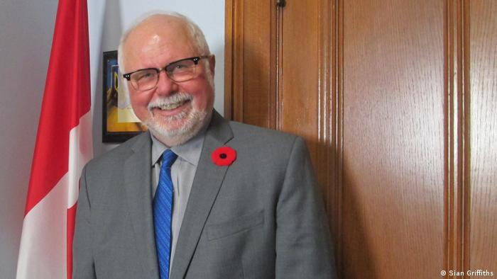 Robert Sopuck, a Conservative Member of the Canadian Parliament. Photo credit: Sian Griffiths.