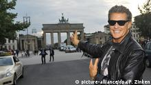 Deutschland David Hasselhoff in Berlin