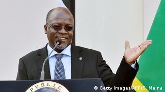 John Magufuli Präsident Tansania