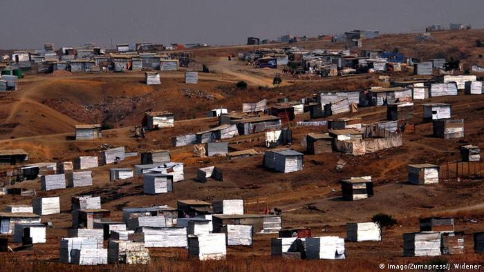 Angola Luanda Elendsviertel