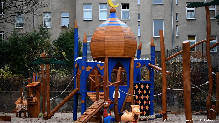 Ali Baba and the Forty Thieves themed playground in Neukölln