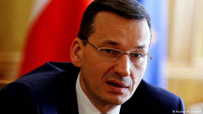Polen stellvertretender Premierminister Mateusz Morawiecki (Reuters/K. Pempel)