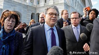 USA Senator Al Franken in Washington | Rücktritt nach Belästigungsvorwürfen