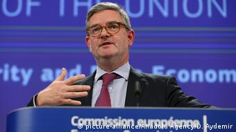 Julian King, comisario de Seguridad de la UE.