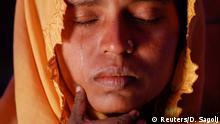 Bangladesch Flüchtlingscamp für Rohingya Witwen mit ihren Kindern