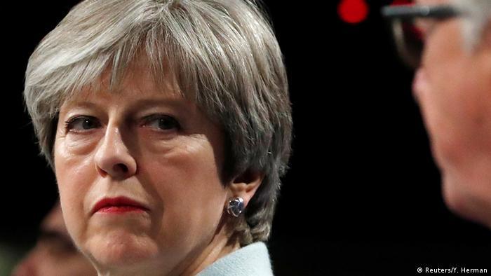 EU Brexit Durchbruch Theresa May in Brüssel (Reuters/Y. Herman)