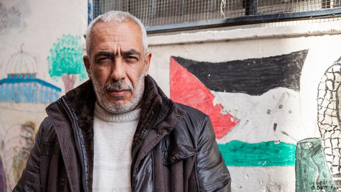 A Palestinian man who fought in the first intifada