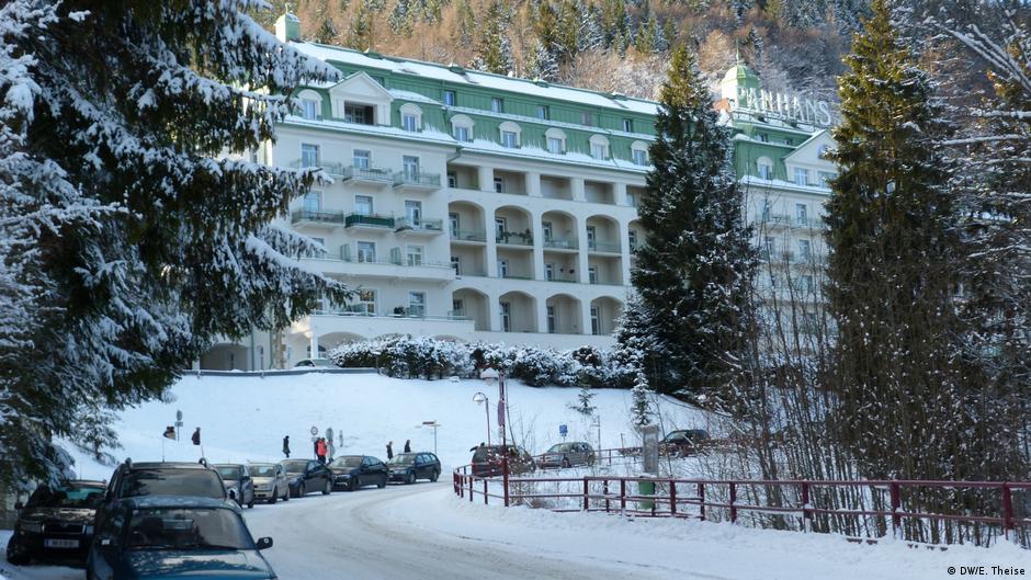 Skikurort Semmering in Österreich