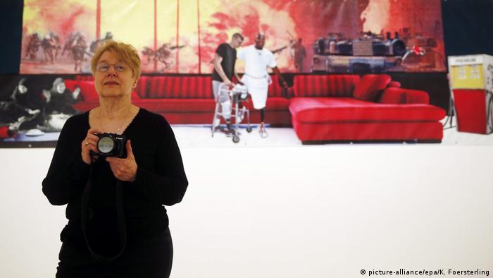 Artist Martha Rosler in Spain