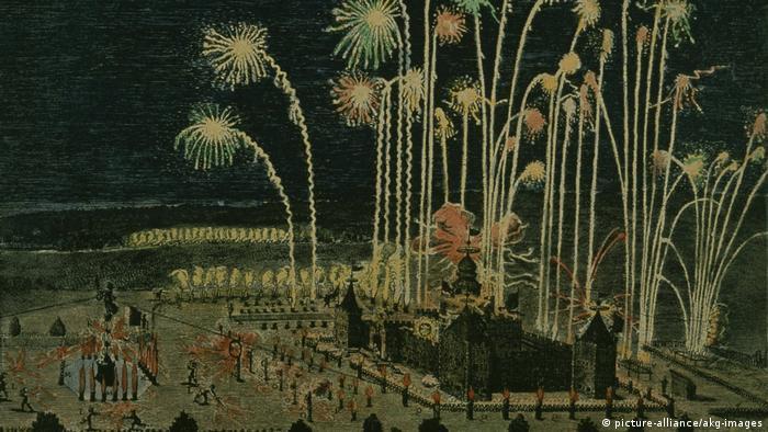Feuerwerk Nürnberg 1650