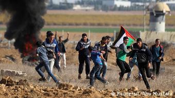 Gazastreifen Proteste Trump Israel Palästina Jerusalem (Reuters/I. Abu Mustafa)