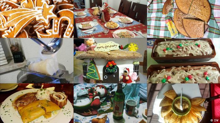 DW Collage Euromaxx Zuschaueraktion Weihnachten