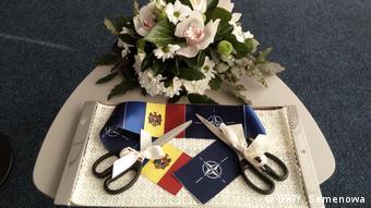 Символика НАТО и Молдавии