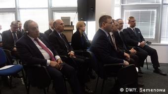 Дипломаты на открытии Бюро НАТО в Кишиневе