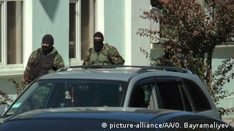 Обыск в здании Меджлиса крымскотатарского народа (Фото из архива)