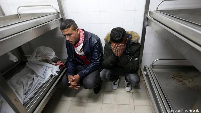 Israel Tote nach Unruhen Jerusalem Entscheidung der USA (Reuters/I. A. Mustafa)