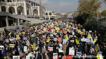 Iran Proteste in Teheran gegen Anerkennung Jerusalems als Israels Hauptstadt
