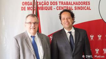 Mosambik - Michel Lazare (IWF) und Ari Aisen IWF-Vertreter in Mosambik