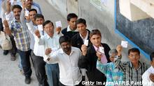 Indien Wahlen in Gujarat
