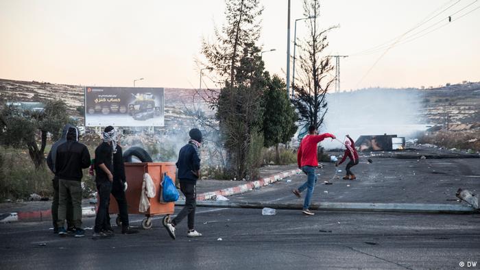 Palästine Ramalah Protests