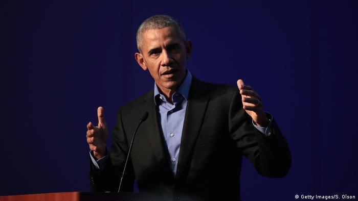 USA Chicago Rede von Barack Obama