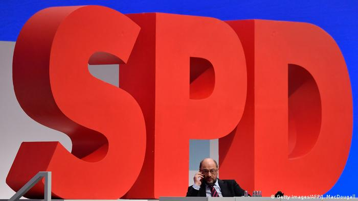 SPD-Chef Martin Schulz (Getty Images/AFP/J. MacDougall)
