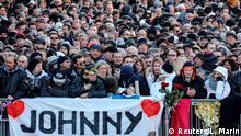 Frankreich Beisetzung Johnny Hallyday in Paris