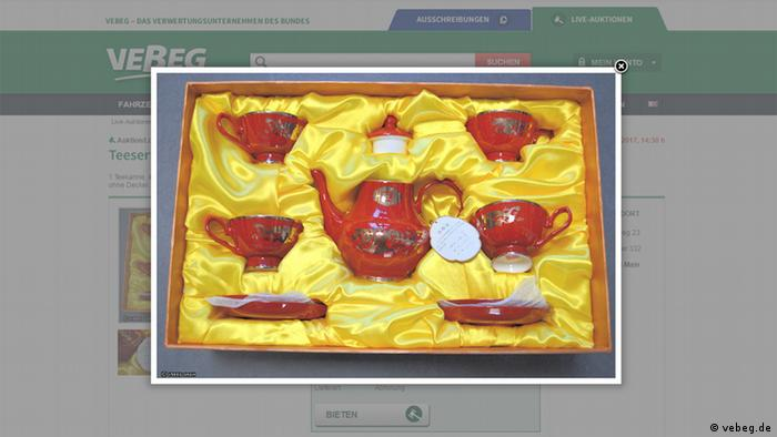 Screenshot der Webiste vebeg.de (vebeg.de)