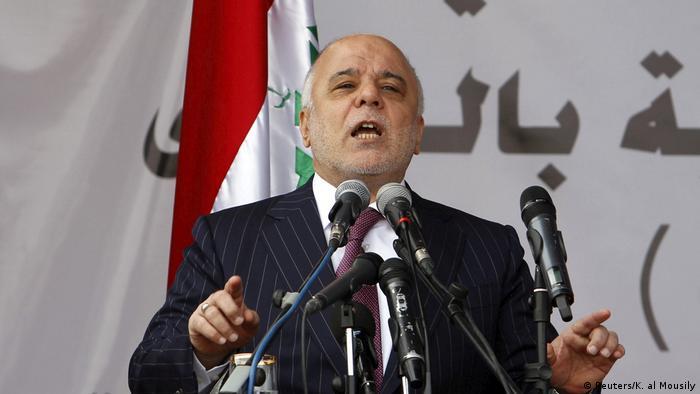 Irak Premierminister Haider al-Abadi (Reuters/K. al Mousily)