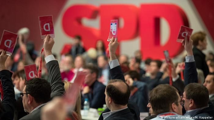 SPD-Parteitag in Berlin | Abstimmung