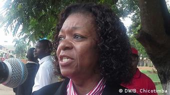 Mosambik Staatsanwältin Angelica Napica