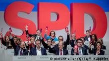 SPD-Parteitag in Berlin | Schlussabstimmung