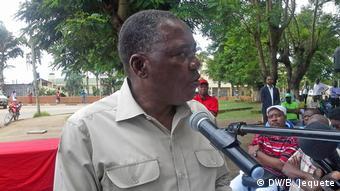 Mosambik Alberto Ricardo Mondlane