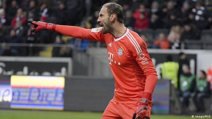1. Bundesliga 15. Spieltag | Eintracht Frankfurt - Bayern München | Tom Starke (Imago/MIS)