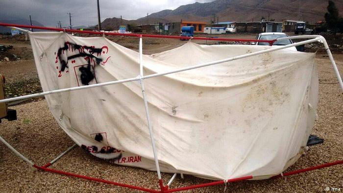 Iran Provinz Kermanshah nach dem Erdbeben (Irna)