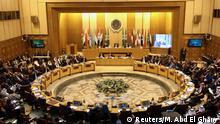 Ägypten Minister der Arabischen Liga tagen in Kairo