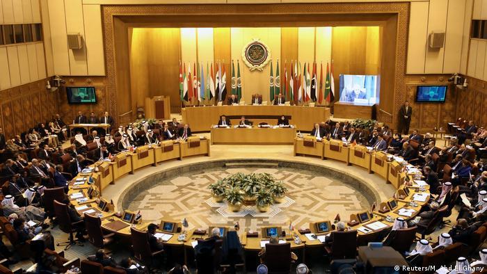 Ägypten Minister der Arabischen Liga tagen in Kairo (Reuters/M. Abd El Ghany)