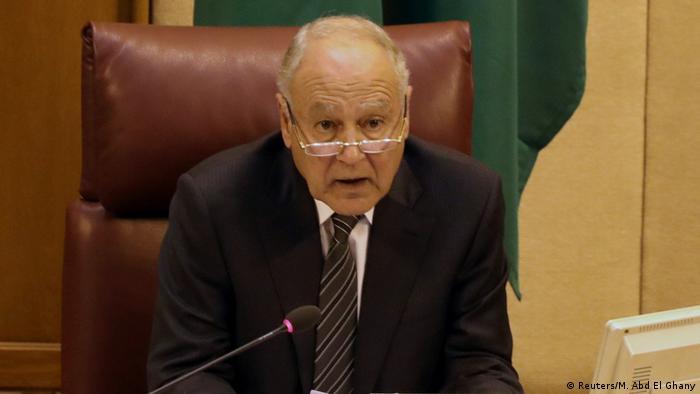 Ahmed Aboul, secretario general de la Liga Árabe