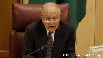 O secretário-geral da Liga Árabe