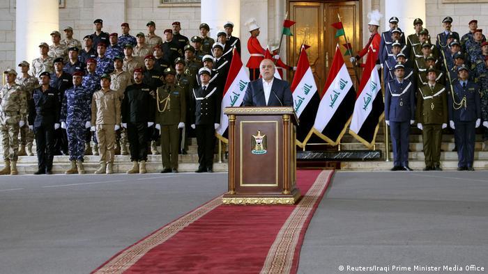 Irak Premierminister Haider al-Abadi (Reuters/Iraqi Prime Minister Media Office)