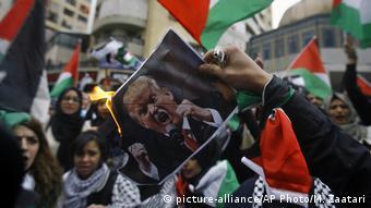 Libanon Proteste gegen US-Entscheidung zu Jerusalem