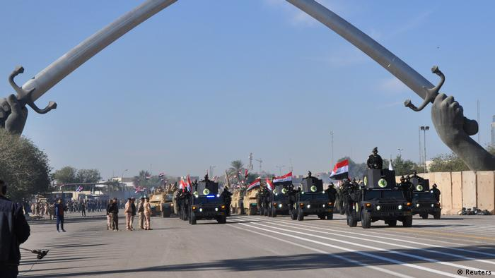 Irak Militärparade in Bagdad (Reuters)