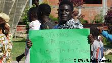 Angola Marsch am Internationalen Tag der Menschenrechte in Benguela