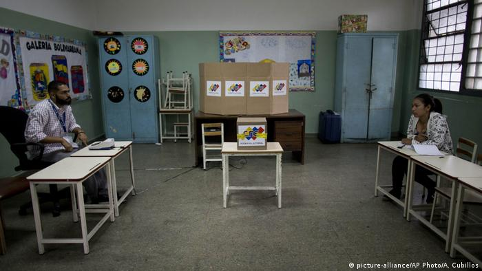 An empty polling station in Caracas AP Photo/Ariana Cubillos