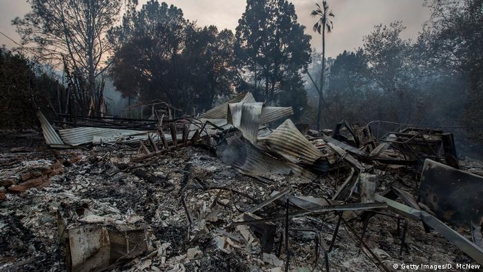 USA California wildfires, Thomas Fire