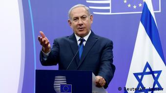 Belgien Brüssel Netanjahu trifft Mogherini