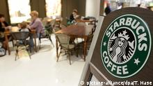 Starbucks - Cafe mit Logo