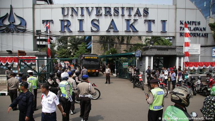 Indonesien Jakarta - Trisakti Universität (picture-alliance/NurPhoto/D. husni)