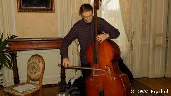 Олександр Ларкін зізнається, що контрабас - не надто популярний інструмент