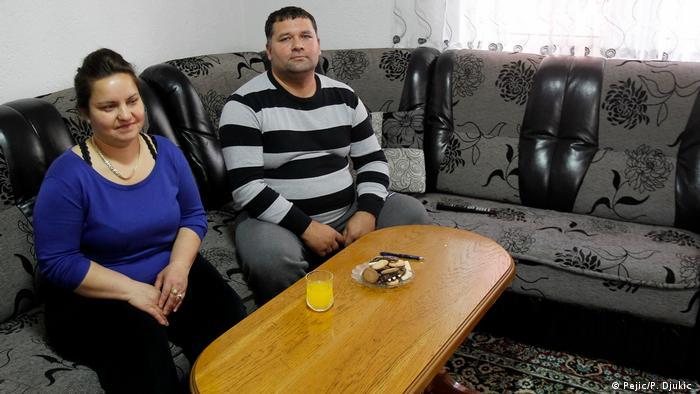 Serbien Nis - Familie Bajramovic, Mirsad und Balkesa